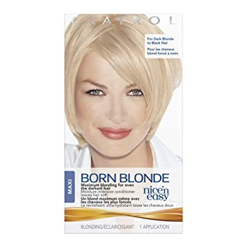clairol nice n easy born blonde hair color maxi 1 kit - Clairol Nice And Easy Colors