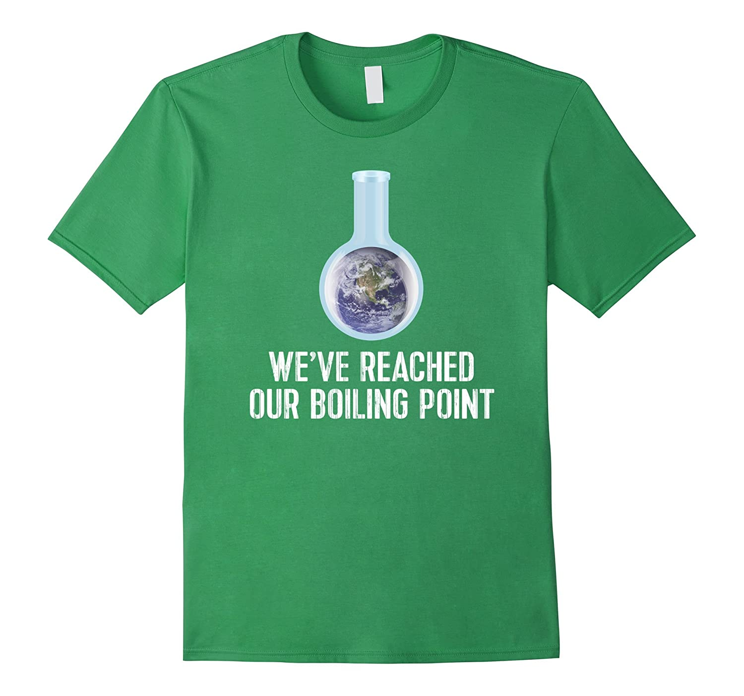 Earth Climate Change TShirt Reached Our Boiling Point Tee-CD