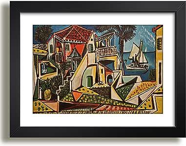 Quadro Picasso Paisagem Mediterranea Pintores Famosos Arte