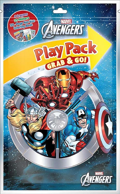 Marvel Paquetes de Juego de los Vengadores Grab N Go (12 Paquetes ...
