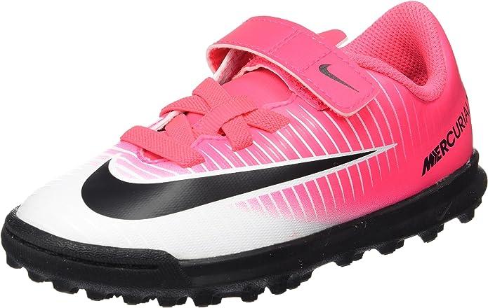 Nike Mercurial Vortex III TF, Botas de fútbol Unisex Niños: Amazon ...