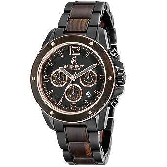 Quarz Chronograph Edelstahl Herren Sp Armband Spinnaker Uhr 5027 Mit Yb6fgy7mIv