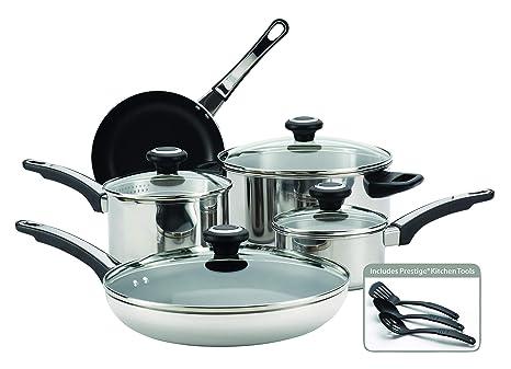 Amazon.com: Farberware - Batería de cocina (12 piezas, acero ...