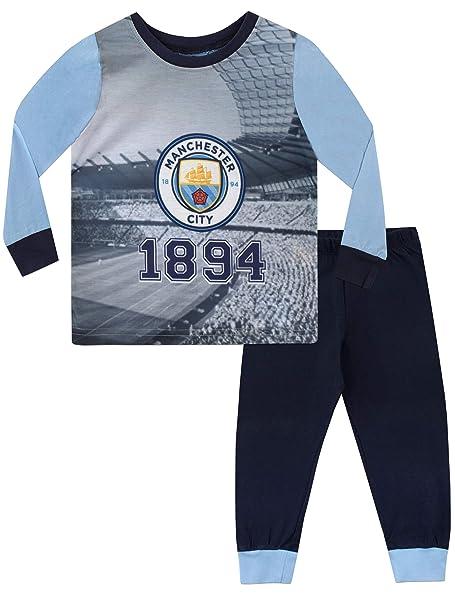 Manchester City FC Pijama para Niños Football Club 3-4 Años