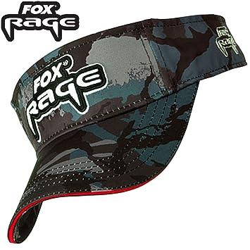 Fox Rage Camo Visor – Gorra para pesca, protección solar patineta para pesca, pantalla