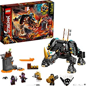 LEGO NINJAGO Zane's Mino Creature 71719 Board Game Adventure, Ninja Building Set for Kids, New 2020 (616 Pieces)