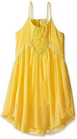 20f1d103077e Amazon.com  Ella Moss Girls Slim Size Daniella A-line Dress  Clothing