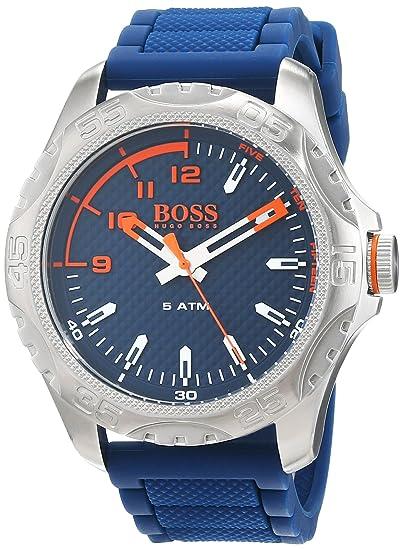 Hugo Boss Orange Reloj Análogo clásico para Hombre de Cuarzo con Correa en Silicona 1550031: Amazon.es: Relojes