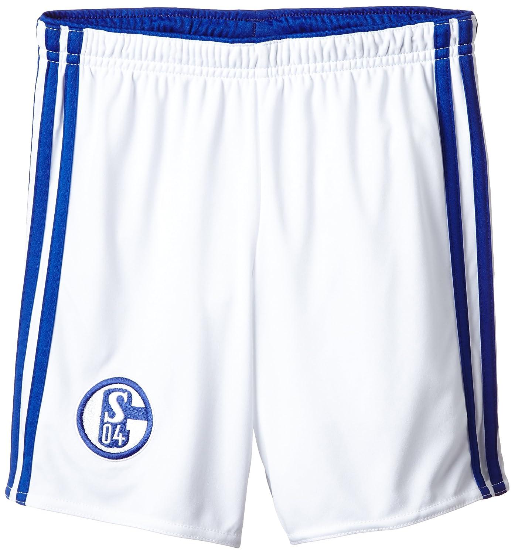 adidas Boys FC Schalke 04 Home Shorts - L D88455 D88455_Weiß-164