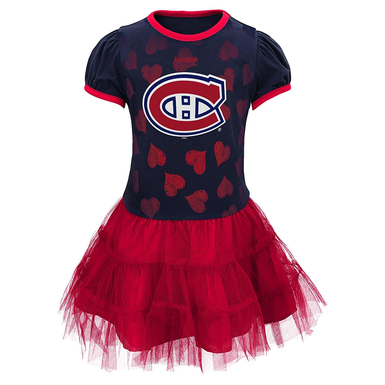 Montreal Canadiens Infant Girls Love To Dance Tutu Dress - Size 24 Months Reebok