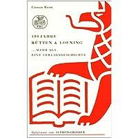 150 Jahre Rütten & Loening 1844-1994: .mehr als eine Verlagsgeschichte