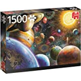 Jumbo Jumbo Premium Puzzle Collection 'Planets in Space' 1,500 Piece Jigsaw Puzzle