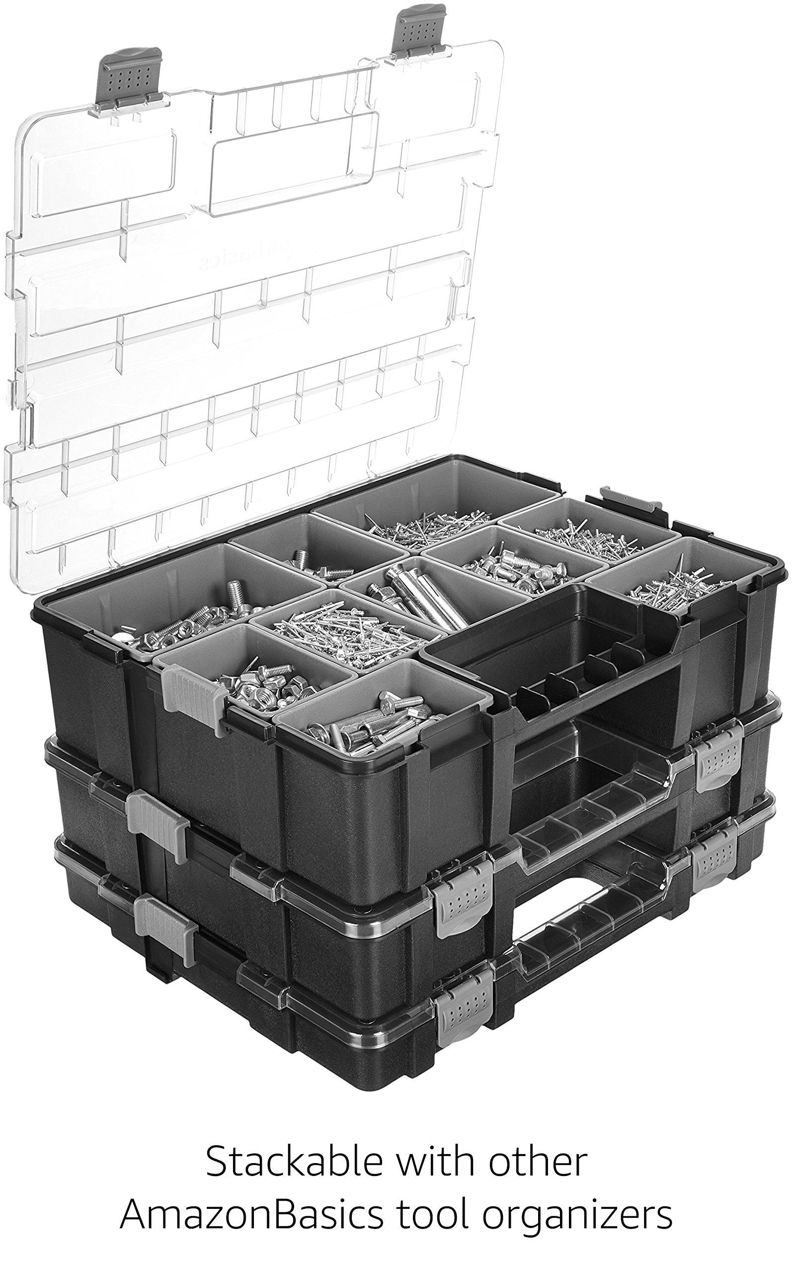 AmazonBasics Tool Organizer - 10 Compartments by AmazonBasics (Image #3)