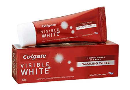 Review Colgate Visible White Dazzling