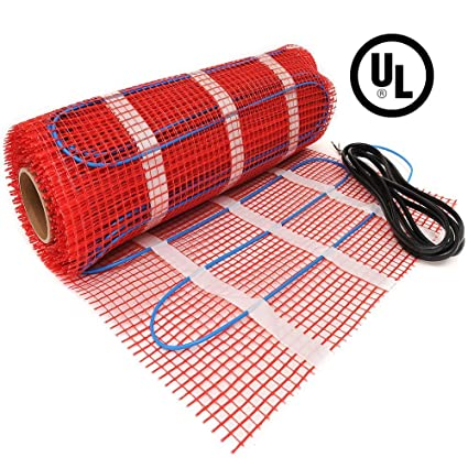 100 Sqft Heattech 120v Electric Tile Radiant Floor Heating Mat