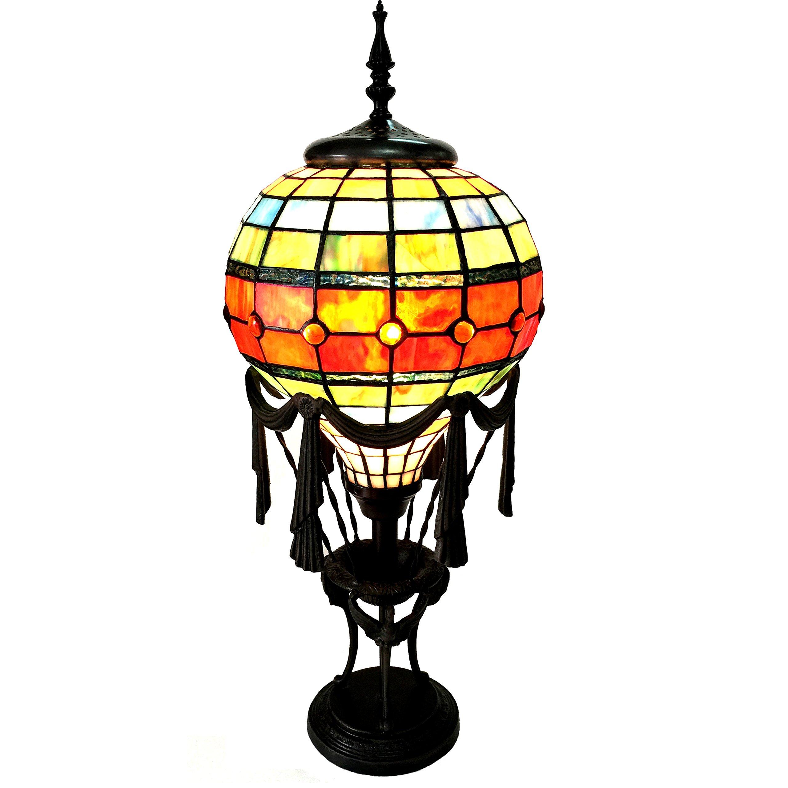 Chloe Lighting CH15692GM11-TL1 Rozier Tiffany-Style 1 Table Lamp 11'' Shade 1 Light by Chloe Lighting