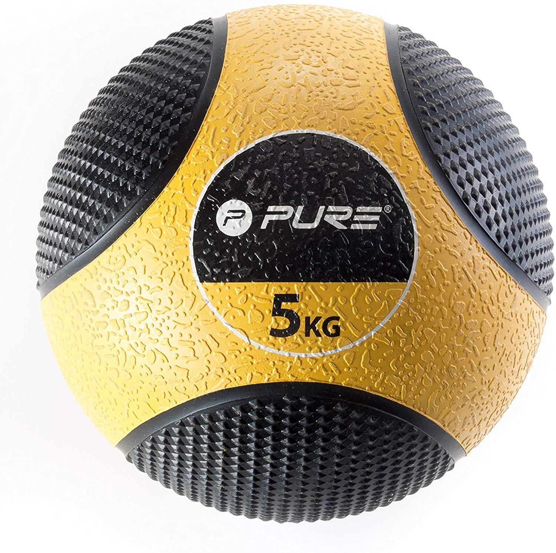 Pure2Improve p2i110030 balón de Ejercicio Unisex, Amarillo/Negro ...