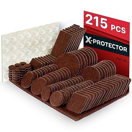 Furniture Pads 215 Pcs X Protector Best Felt Furniture Pads