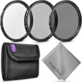 95MM Altura Photo Professional Photography Filter Kit (UV, CPL Polarizer, Neutral Density ND4) for Camera Lens with 95MM…