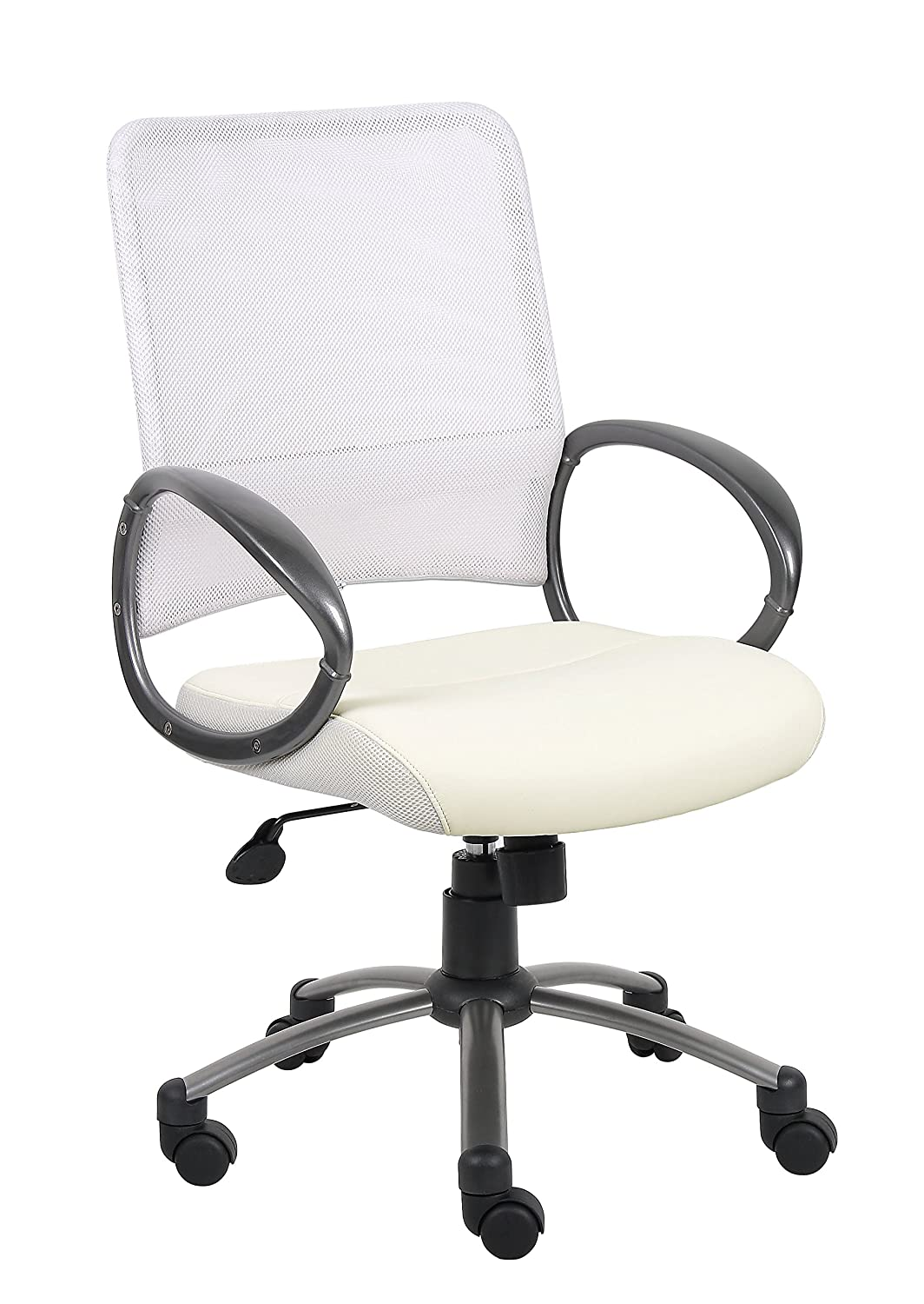 amazon com boss office products b6406 mesh back task chair with