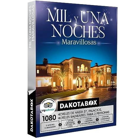 DAKOTABOX - Caja Regalo - MIL Y UNA NOCHES MARAVILLOSAS - 1080 hoteles, balnearios y