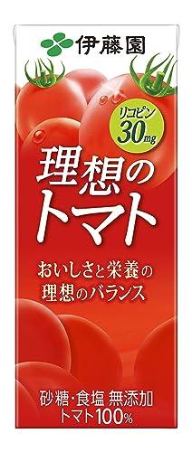 伊藤園 理想のトマト (紙パック)200ml×24本