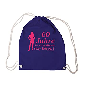 60 Years of Formten This Sexy Body Girl Pink Funny Gym Bag Sports Bag – dece80975ad84