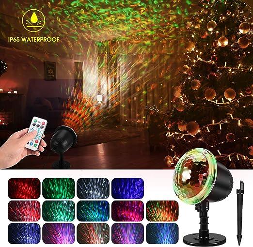 Amazon.com: KINGWILL - Proyector de luces de Navidad con ...
