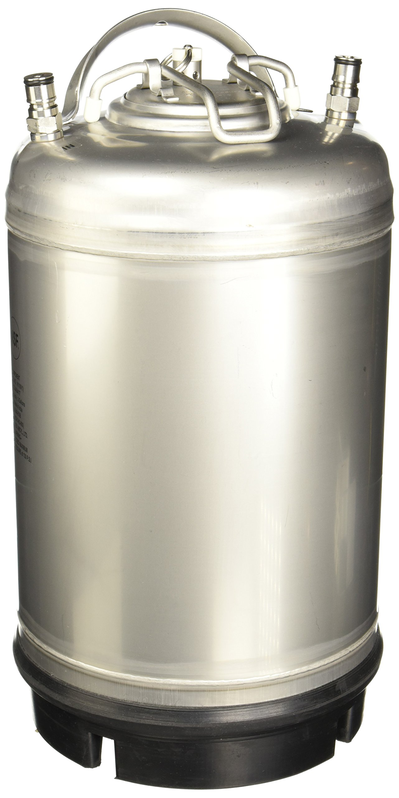 Varies - AMCYL CKN3-SH 3 gal Keg New Ball Lock Beer, Soda or Tea