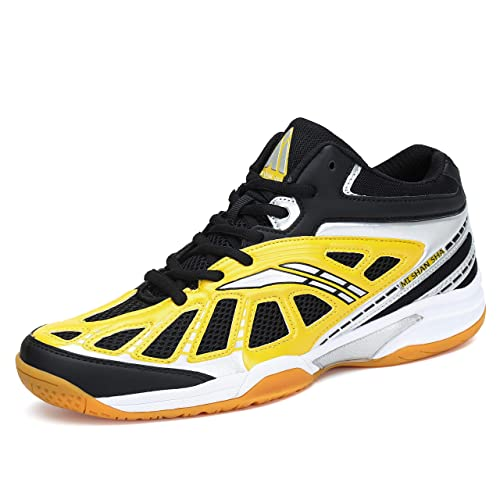 Mishansha Mens Athletic Professinal Indoor Outdoor Running Walking Trail Tennis Court Sport Shoes