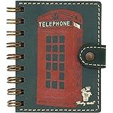 Durable Telindex A5 - Agenda telefónica A5, color azul, 200 ...