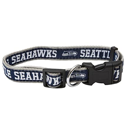 Amazon.com   Pets First NFL Seattle Seahawks Pet Collar 16c33afb3