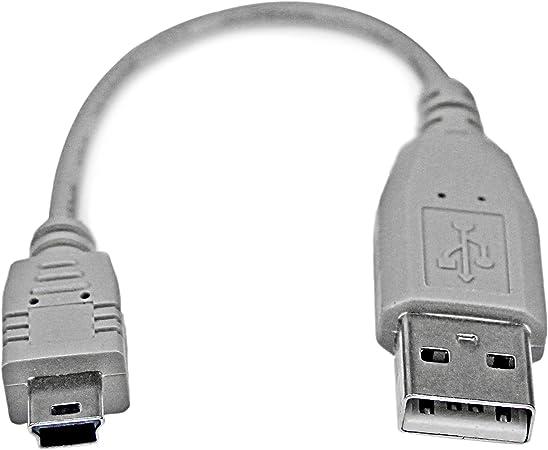 A to Mini B Cable Laptop PC Cord for Startech USB2HABM6 USB2HABM6LA USB2HABM6IN USB2HABM6RA USB2HABM1 SLLEA Mini USB Cable
