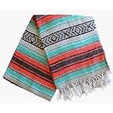 Del Mex Classic Mexican Falsa Blanket Vintage Style (Corona)