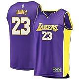 Fast Break Lebron Lakers Replica Jersey Purple