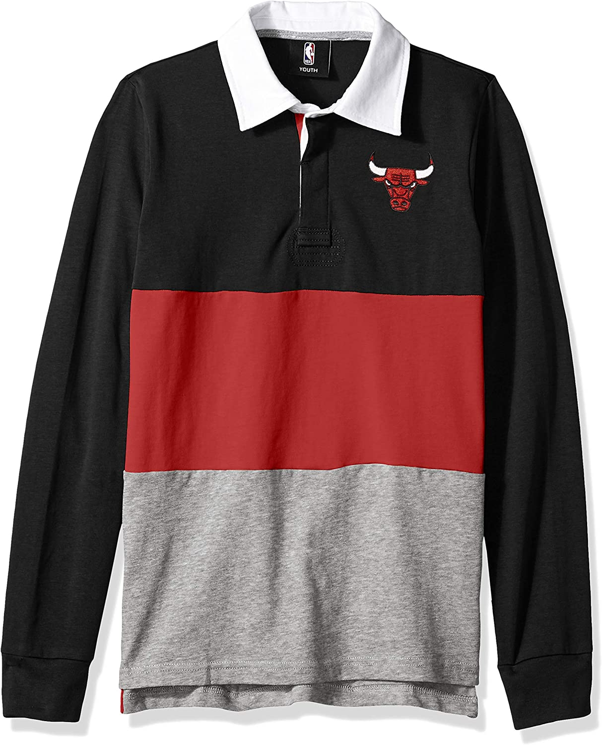 Outerstuff NBA Boys State of Mind Long Sleeve Rugby Top
