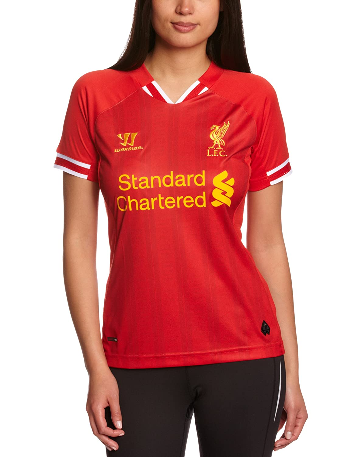 lowest price 914a0 8fb89 2013-14 Liverpool Womens Home Shirt, T-Shirts & Tops ...
