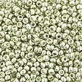 Miyuki Round Seed Bead Size 8/0 22g-tube Galvanized Silver