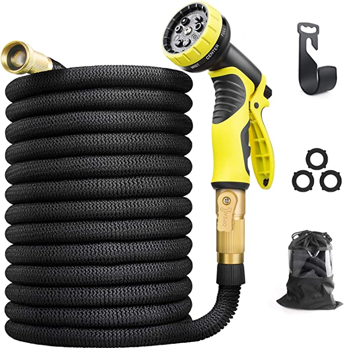Aterod Garden hose 75ft - Best for Adjustability