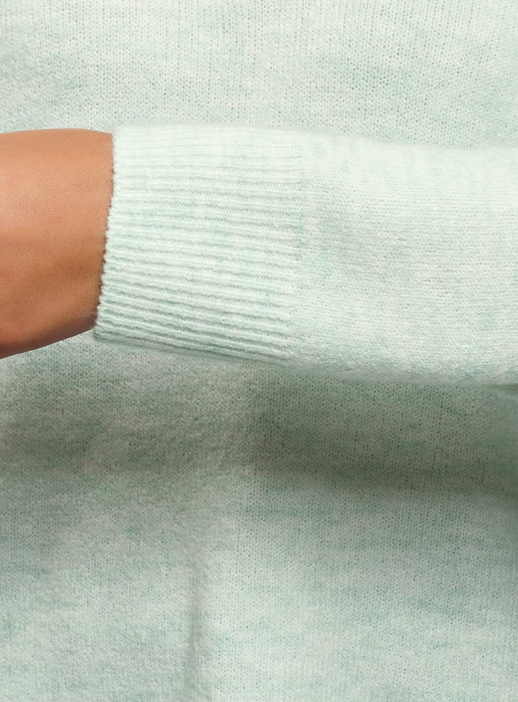 oodji Ultra Femme Pull Long /à Col V