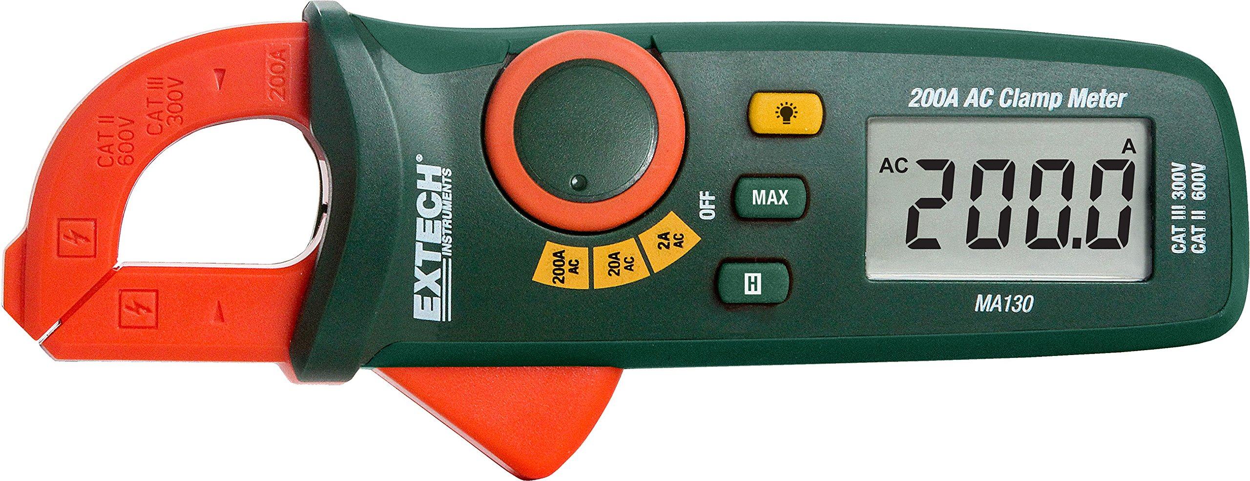 Extech MA130 Mini 200A AC Clamp Meter