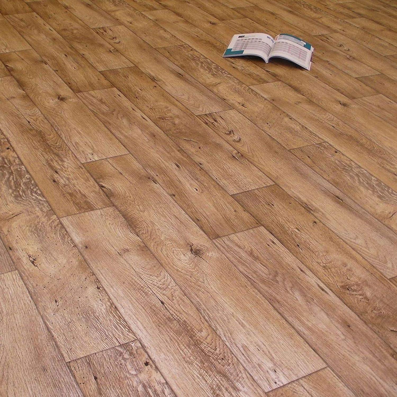 Breite: 200 cm x L/änge: 600 cm PVC Bodenbelag Holz Rustikal Natur 11,90 /€ p. m/²