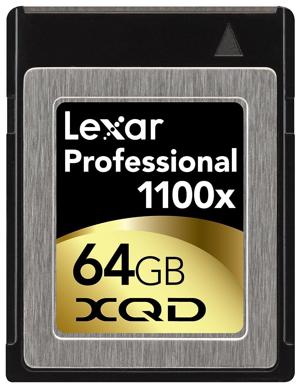 Lexar 64GB Professional 1100x XQD Memoria Flash - Tarjeta de ...