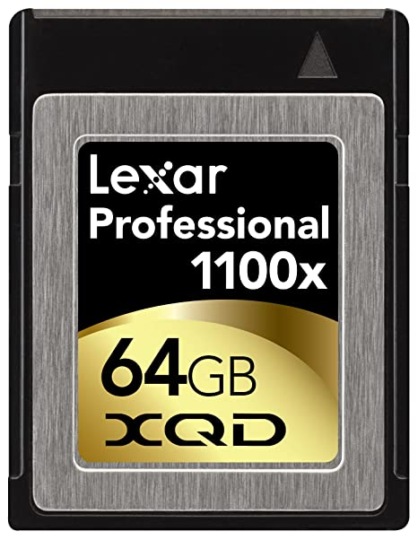 Amazon.com: Lexar Professional 1100 x XQD tarjeta ...