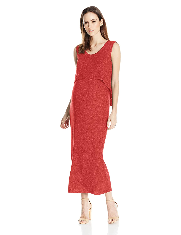 5b4b96f6faaac Ripe Maternity Women's Maternity Swing Back Maxi Dress at Amazon Women's  Clothing store: