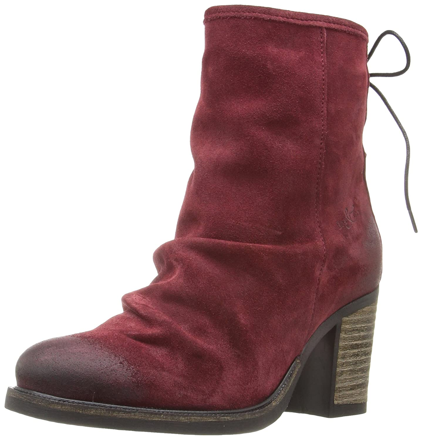 Bos. & Co. Women's Barlow Boot B01CRC1LCY 37 EU/6.5 - 7 M US|Scarlet Oil Suede