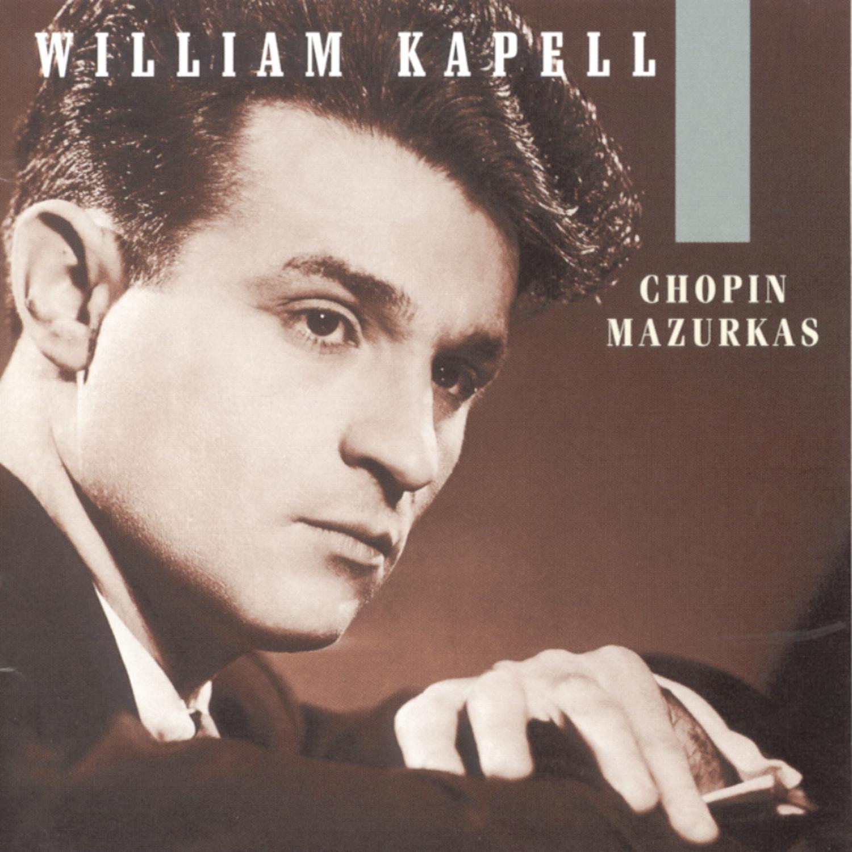 Chopin: Mazurkas Kapell gift New product type ~