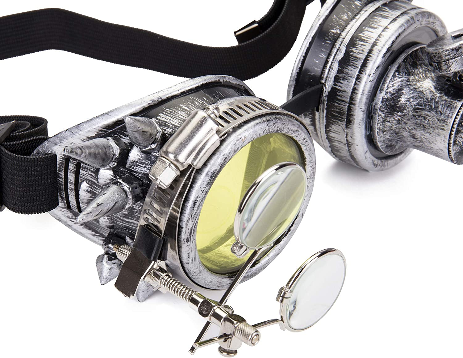 OMG/_Shop Festival Kaleidoscope Steampunk Goggles barbed Wire Ocular Loupe