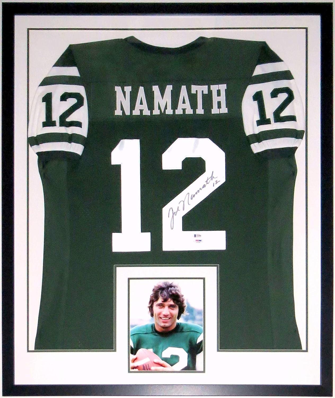 Joe Namath Signed Authentic New York Jets Jersey - Beckett ...