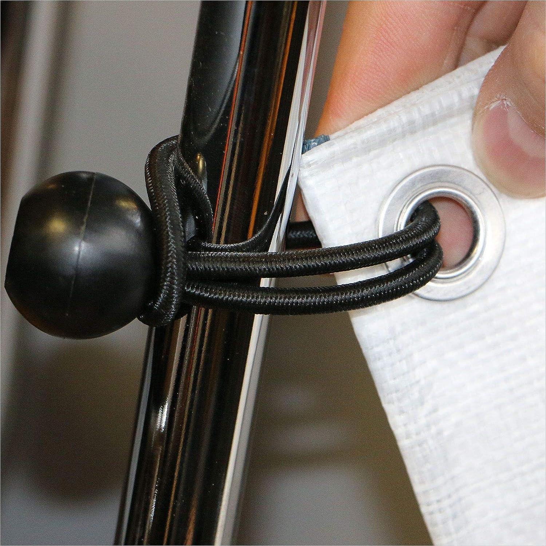 30 x Gummispanner 120 mm mit Kugel Spann-Gummi Expander-Schlinge Gummiband Expander-Seil Spannseil